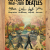 60 Years The Beatles 1960 2020 Signature poster