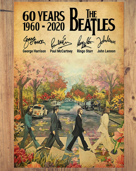 YearsTheBeatlesSignatureposter