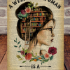 A Well-Read Woman is a Dangerous Creature poster