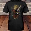 Baby Groot Hug Queen Band shirt