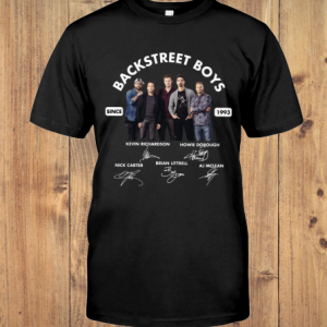 Backstreet Boys Since 1993 Signature shirt