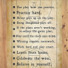 Basketball Life Lessons poster