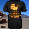 Chicken Cancer Messed With The Wrong Chick shirt