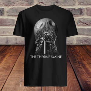 Darth Vader The Throne Is Mine shirt