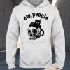 Ew people cat skull hoodie