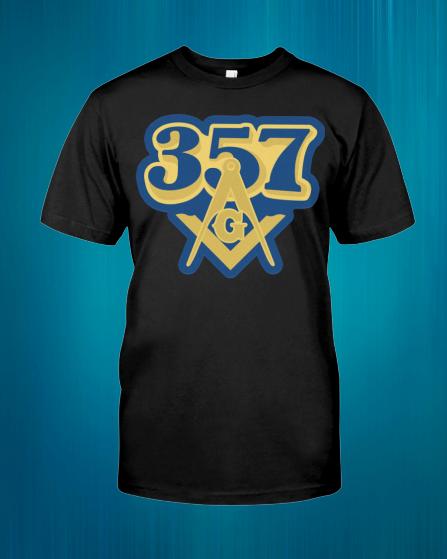 Freemason 357 shirt