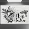 Hairdresser Hair Hustler poster