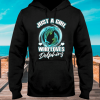 Just A Girl Who Loves Dolphings hoodie