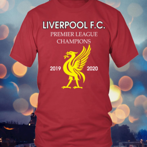 Liverpool F.C Premier League Champions 2019 2020 shirt