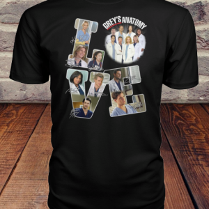 Love Grey's Anatomy Signature shirt