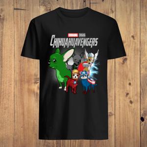 Marvel Avengers Chihuahua Chihuahuavengers men shirt