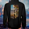 Michigan USA Flag hoodie