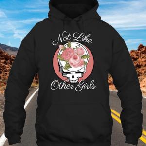 Not Like Other Girls Skull hoodie
