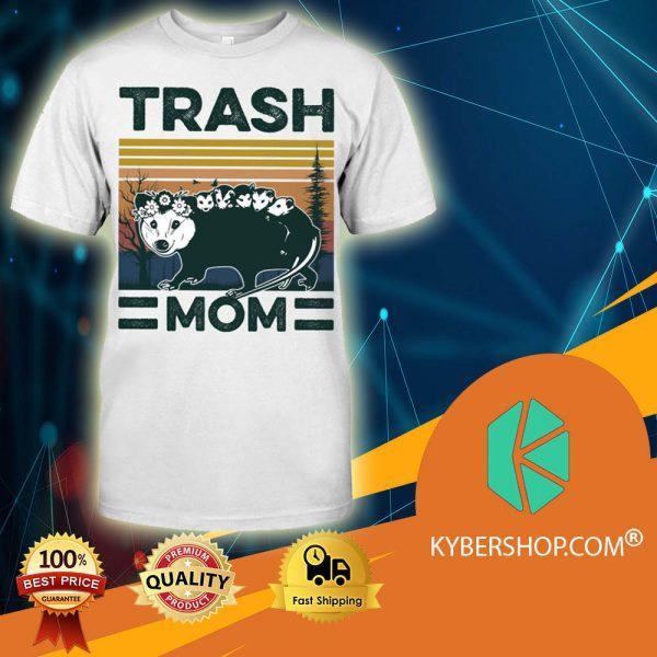Opossum Vintage Trash Mom shirt