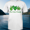 Peace Love Cannabis shirt