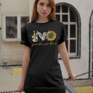 Peace Love Sunflower shirt