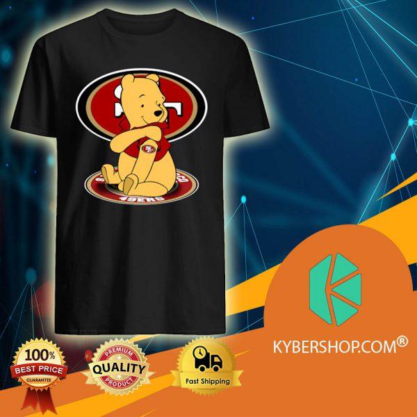 Pooh San Francisco 49ers shirt