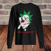 Rick and morty joker why so schwifty unisex sweatshirt