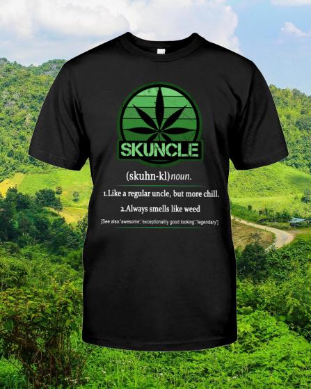 Skuncle Like A Regular Uncle shirt