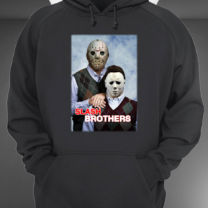Slash Brothers Jason Voorhees And Michael Myers hoodie