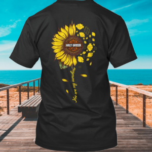 Sunflower Harley-Davidson You are my sunshine shirt