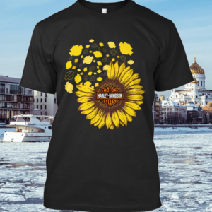 Sunflower Motor Harley-Davidson Cycles shirt