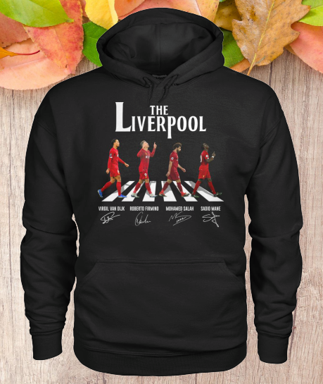 The Liverpool Abbey Road Signatures hoodie