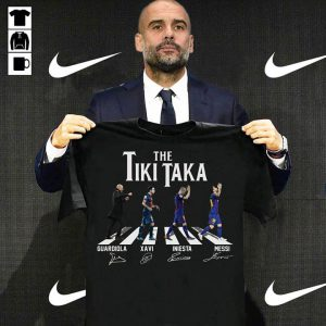 The Tiki Taka Abbey Road shirt