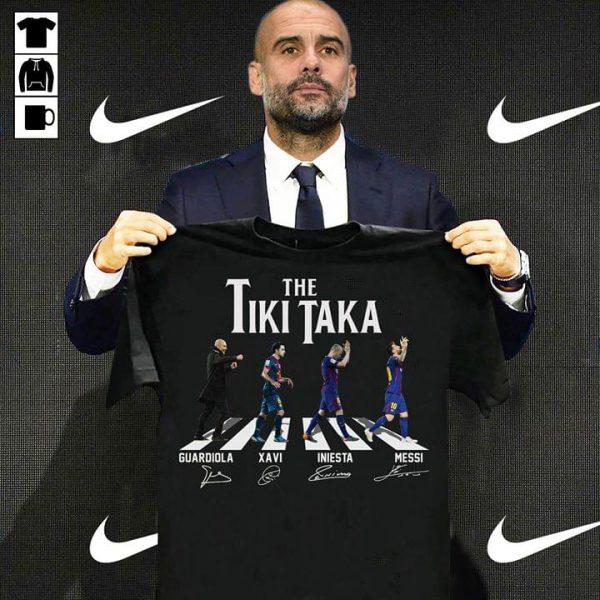 The Tiki Taka Abbey Road shirt