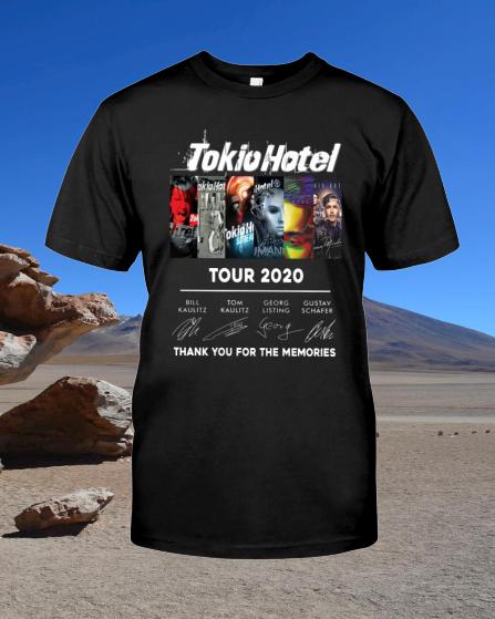 Tokyo Hotel Tour 2020 shirt