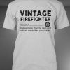Vintage Firefighter deffination shirt