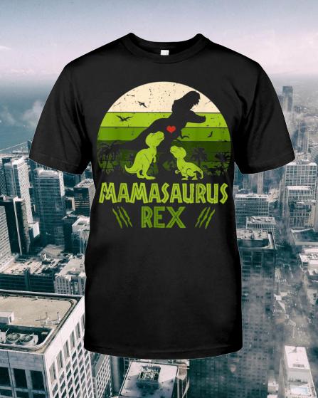 Vintage Mamasaurus Dinosaur shirt