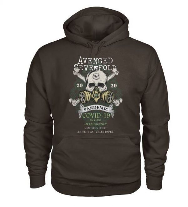 Avenged sevenfold 2020 pandemic covid-19 in case emergency hoodie