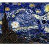 Cat Van Gogh Horizontal Poster