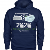 Seahawks 2020 the year when shit got real hoodie