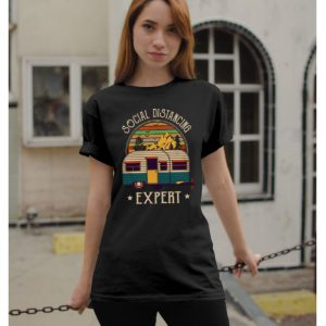 Social distancing expert shirt