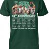 Boston Celtics 74th anniversary 1946-2020 shirt