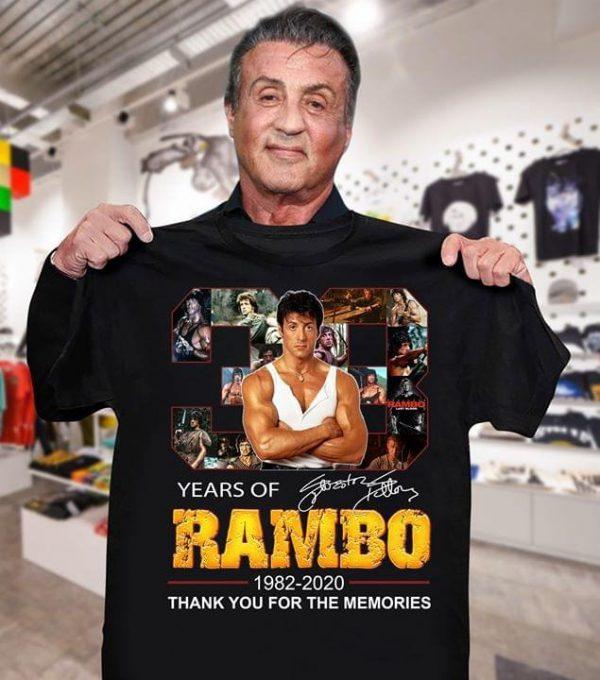 Years of Rambo shirt