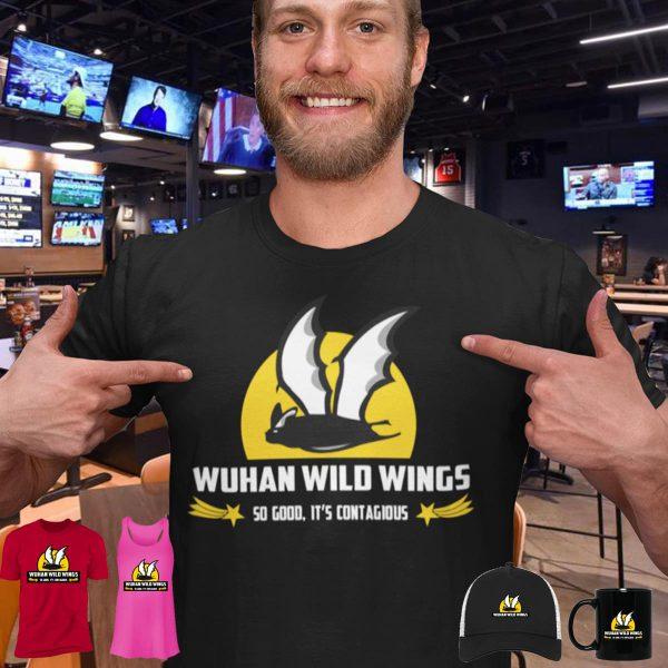 Bat wuhan wild wings shirt