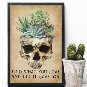 Find what you love and let it save you poster