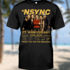 NSYNC 24th anniversary 1995 2020 shirt