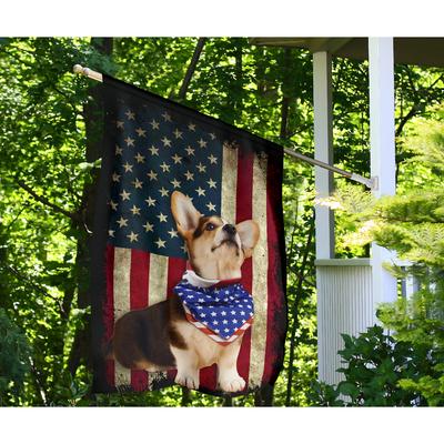 Beagle dog US plag