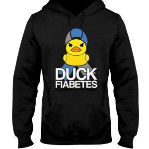 Diabetes Duck Fiabetes Shirt