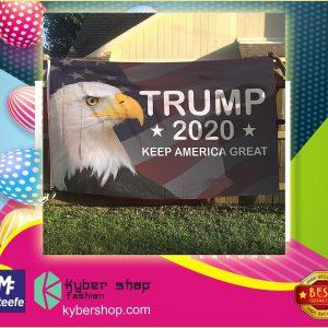 Eagle Trump  keep america great flag