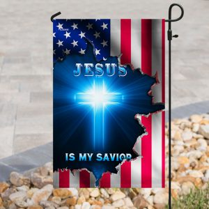 Jesus American is my saviob flag