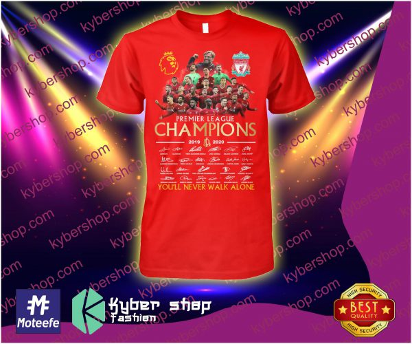 Liverpool Premier league champions youll never walk alone shirt