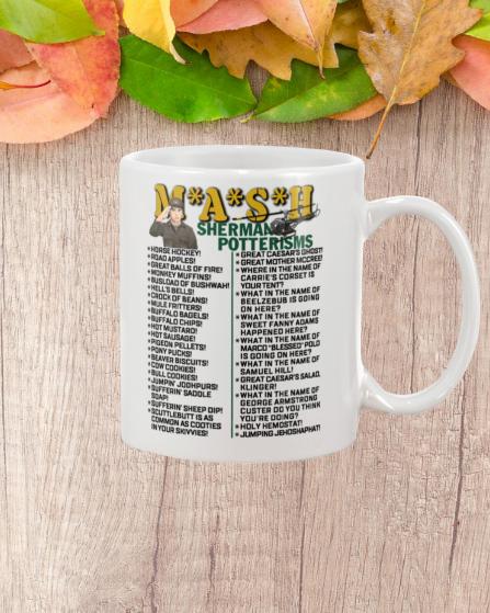 Mash sherman potterisms mug