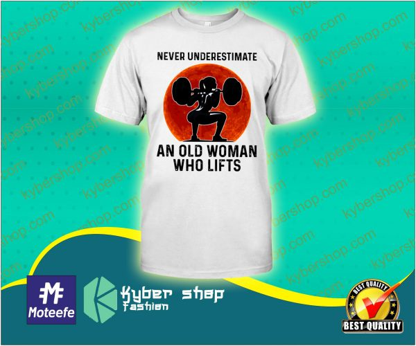 Never underestimete an old woman who lifts shirt