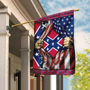 The Confederate US American Flag