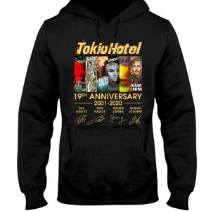 Tokio Hotel 19th Anniversary 2001 2020 shirt